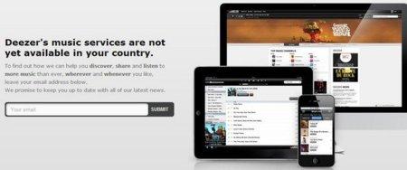 Deezer, el Spotify francés, llegará pronto a España