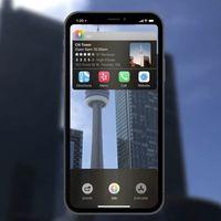 La realidad aumentada se lleva todo el protagonismo en este nuevo concepto de iOS