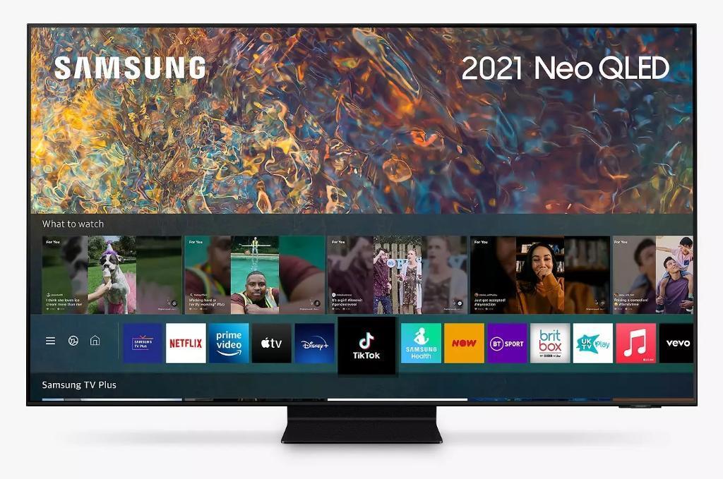 TV Neo QLED Samsung QE55QN95A - 4K, Smart TV, Quantum Matrix, HDR2000, OTS+, One Connect, 70W