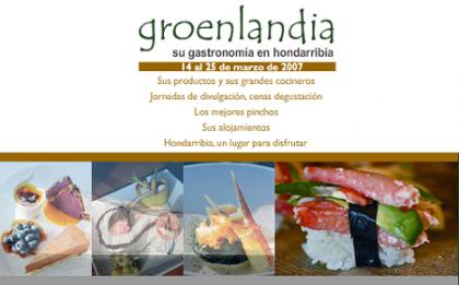 La Gastronomía de Groenlandia se disfruta en Hondarribia
