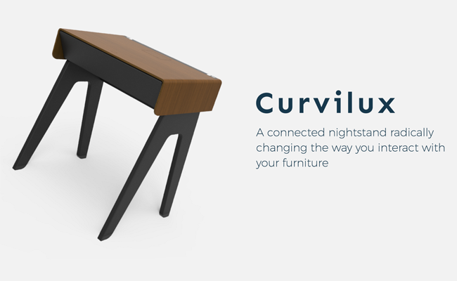 """Si buscas una mesa de noche """"inteligente"""", esta propuesta en Indiegogo te puede interesar"""