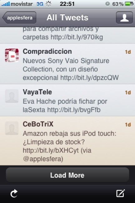 Twitterrific iPhone