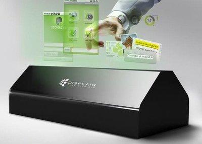 Conoce la Displair, una pantalla holográfica e interactiva