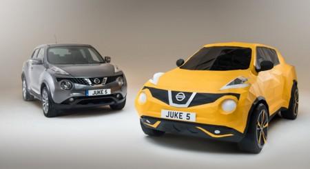 Video: ¿Hoy te sientes creativo? Hagamos un Nissan Juke de papel, escala 1:1