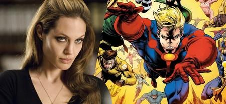 Marvel elige a Angelina Jolie para liderar 'Eternals', pieza clave para la etapa posterior a 'Vengadores: Endgame'