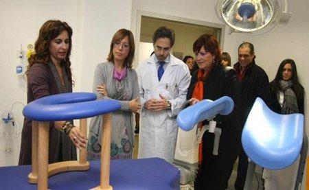 Nuevas salas de parto en el Clínico de Málaga