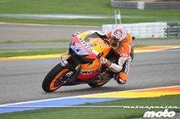 MotoGP Valencia 2011: Casey Stoner vence en MotoGP sobre la misma línea de meta