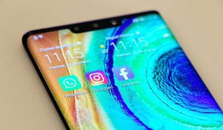 Whatsapp, Facebook e Instagram, Mate 30 pro