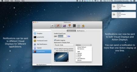 Growl, la versión 2.0 ya está disponible con soporte para el Centro de Notificaciones