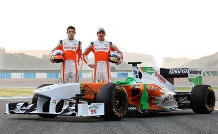 Resumen Fórmula 1 2011: Force India, un equipo en alza