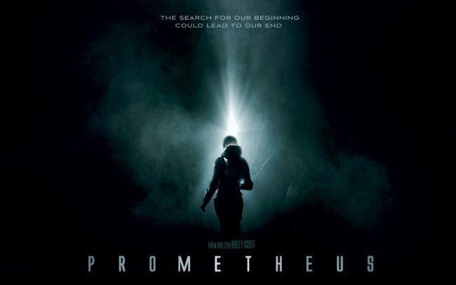 Imagen con el cartel de 'Prometheus'