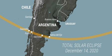 Eclipse In South America 14 12 2020