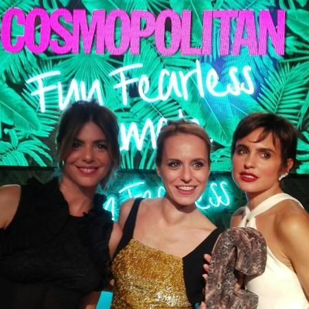 Y los premios Cosmopolitan 2016 también los vimos en Instagram a golpe de foto