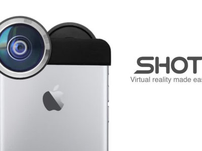 SHOT, transforma tu iPhone en una cámara de realidad virtual