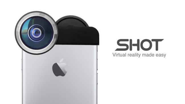 SHOT, transforma tu iPhone en una cámara de realidad virtual