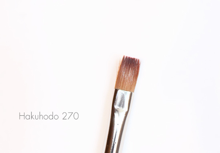 Hakuhodo Lip Brush 270 Flash