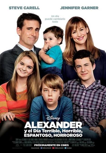 """Nuevo tráiler y carteles de la película de Disney """"Alexander y el día terrible, horrible, espantoso, horroroso"""""""