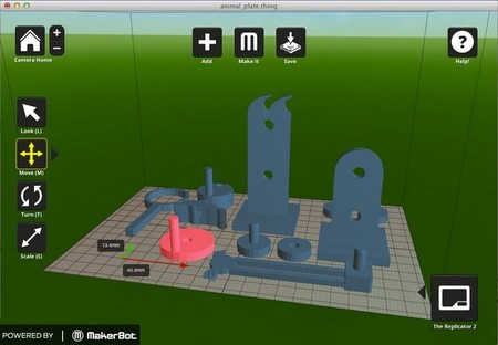 Makerbot software