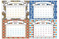 Calendario fiscal del mes de abril