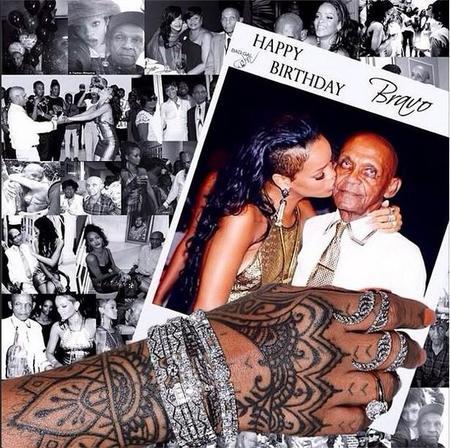 Cumple Abuelo Rihanna