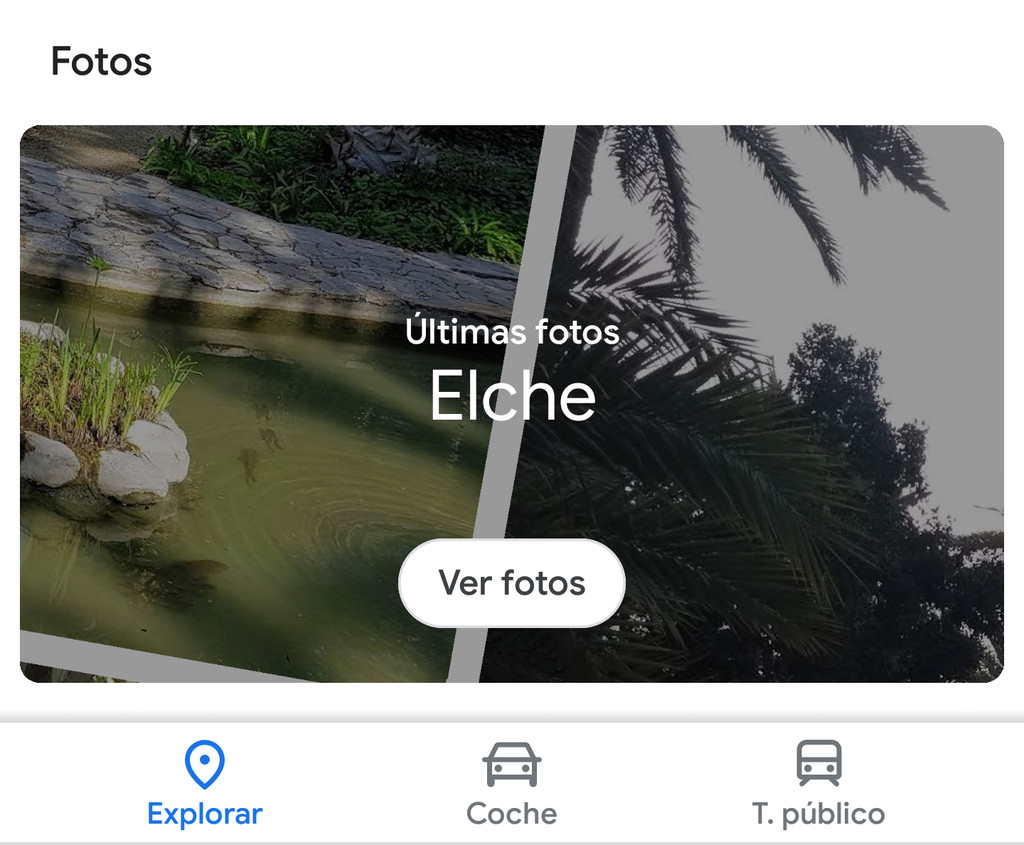 Google Maps for Android: this is the new section that you will discover the best and latest photos of your location