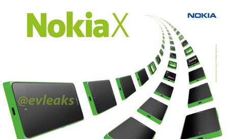 Se filtran imágenes de prensa del Nokia X para el MWC 2014