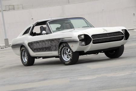Recordando a... Mustang Zebra, uno de los autos más extraños que han aparecido en la pantalla grande