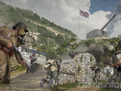 Call of  Duty WWII: 20  minutos de gameplay en Gibraltar, uno de los mapas que veremos en la beta