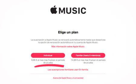 Cómo evitar que te cobren automáticamente por Apple Music tras finalizar el periodo de prueba