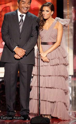 Los looks de Eva Longoria en los premios ALMA 2009