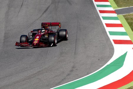 Vettel Mugello F1 2020