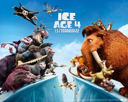 """""""Ice Age 4: la formación de los continentes"""" una película para divertirse con toda la familia"""