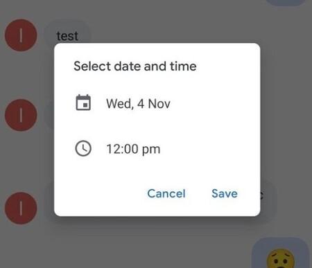 Mensajes de Google empieza a actualizarse con programación de mensajes