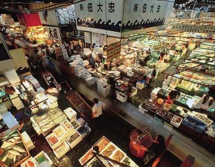 El Mercado Tsukiji de Tokyo, visita obligada