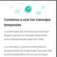 Ya puedes probar los mensajes con fecha de caducidad en WhatsApp, que llegan para todos los usuarios