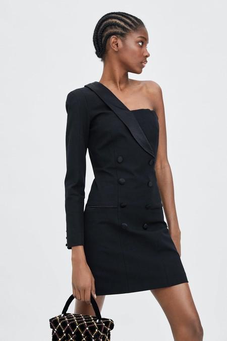 Vestido Zara Fiesta Lbd 08