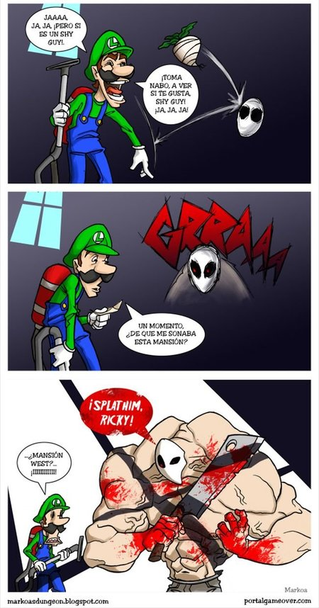 La misteriosa mansión de Luigi