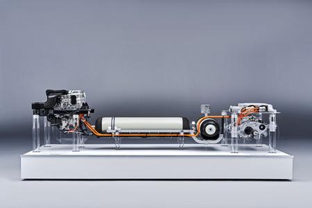 Tren motriz del BMW de hidrógeno