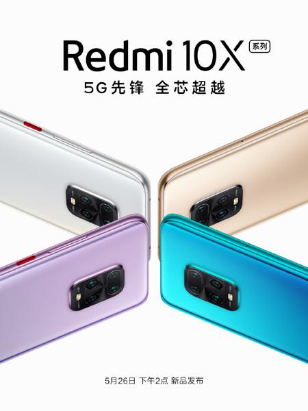 Xiaomi Redmi 10x Mediatek Dimensity 820