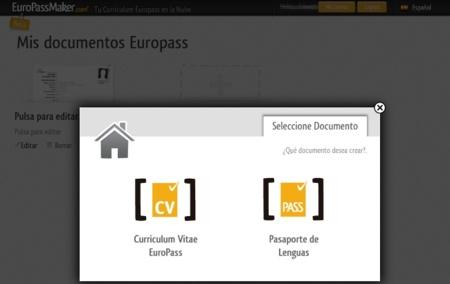 EuroPassMaker te ayuda a crear tu currículo bajo el modelo Europass