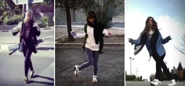 Cuando bailar es un ejemplo de valentía: estas iraníes se juegan la cárcel y un castigo de latigazos por hacerlo en la calle