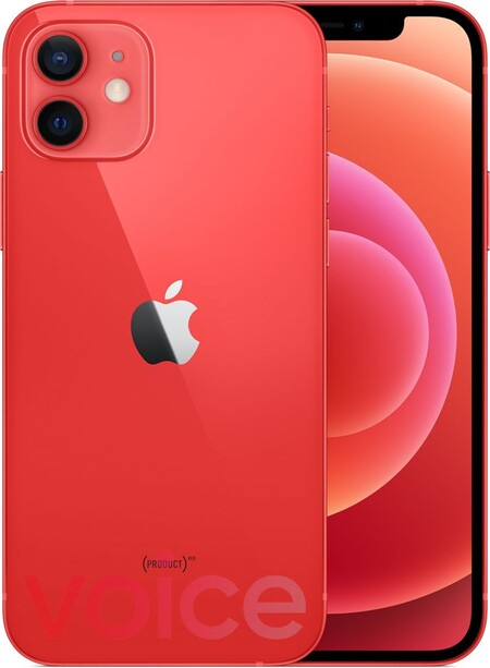 Iphone 12 Filtración Oficial Color Rojo