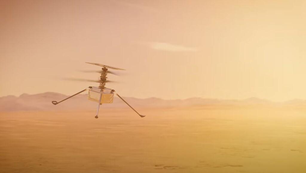 Ingenuity: el helicóptero autónomo que va rumbo a Marte y probará qué tan fácil, o difícil, es volar en el planeta marciano