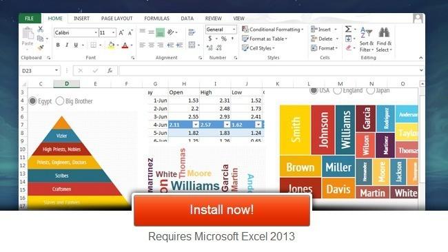 Infogr.am se integra con Excel 2013 para crear infografías fácilmente