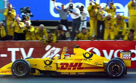 Takuma Sato Jordan Japón 2002
