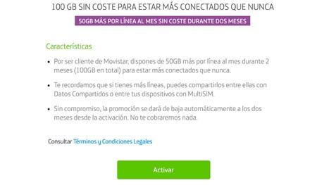 Movistar 100 Gb