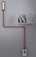Ivy, la lámpara cuyo cable salva obstáculos en su camino