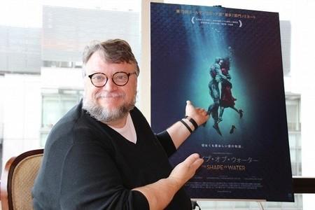 Guillermo del Toro, ganador del Óscar 2018 a la mejor dirección por 'La forma del agua'