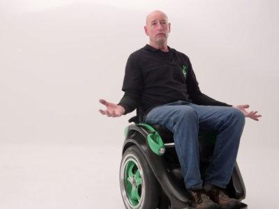 Ogo es una silla de ruedas que podrás mover sin tener que utilizar las manos