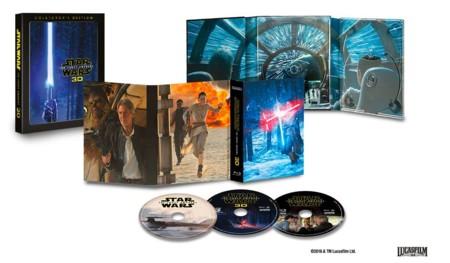 'Star Wars: El despertar de la fuerza', detalles de la edición para coleccionistas en 3D